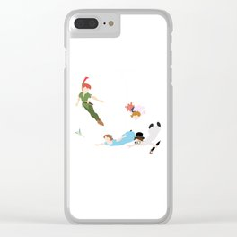 Peter pan characters Clear iPhone Case
