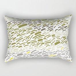 Crater Canyon - Abstract Rectangular Pillow