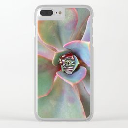 Sun Thirsty Clear iPhone Case
