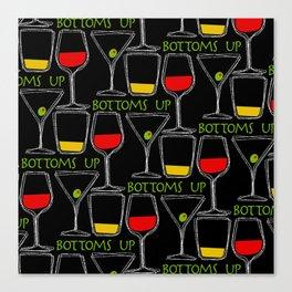 Bottoms Up Canvas Print