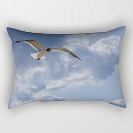 Solo Flight Rectangular Pillow