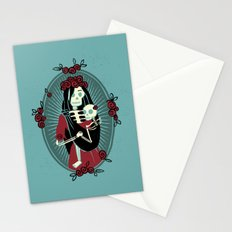 Skeleton Mother & Child - Dia de los Muertos Stationery Cards