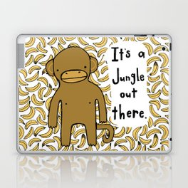 It's A Jungle Out There. Laptop & iPad Skin