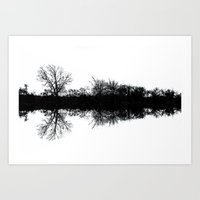 mirror Art Prints featuring Mirror by Mark Alder