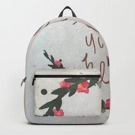 explorer. Backpack