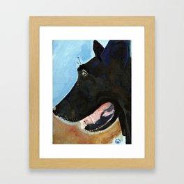 Nexi Framed Art Print