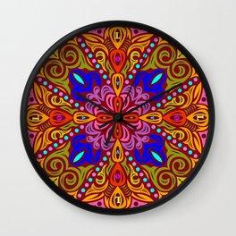 2018 Mandala #5 – Notebooks & more Wall Clock