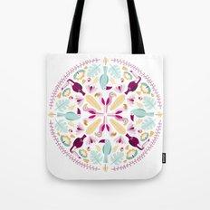Rainforest mandala Tote Bag
