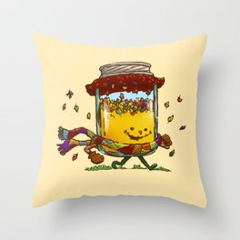 Fall Jam Throw Pillow