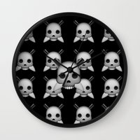 skeletor Wall Clocks featuring Skeletor by Mountain View Art