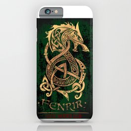 Fenrir: The Monster Wolf of Norse Mythology iPhone Case