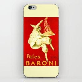 Pasta Baroni Leonetto Cappiello iPhone Skin