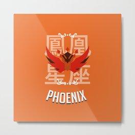 Saint of the Phoenix Metal Print