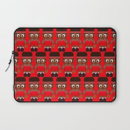 Basketball Red and Black Laptop Sleeve