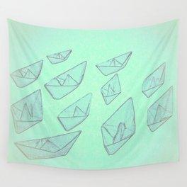 'Boats' Wall Tapestry