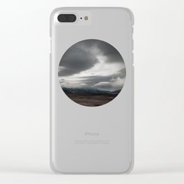 Heavy Sky Clear iPhone Case