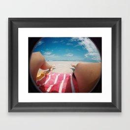 summertime and the livin's easy Framed Art Print
