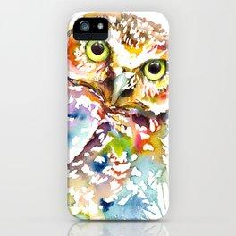 Owl Curious iPhone Case