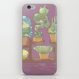 August's Plants iPhone Skin