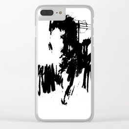 insignificance No.79 Clear iPhone Case