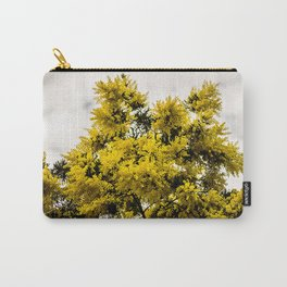 Beautiful Yellow Tree Carry-All Pouch