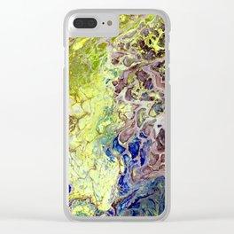 """""""Reptilian Nature"""" Clear iPhone Case"""