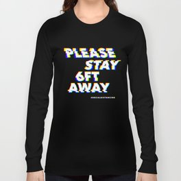 Glitch in society: 6ft Long Sleeve T-shirt