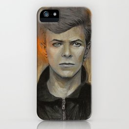 Heroes painting iPhone Case