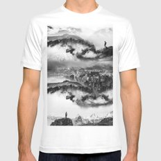 Lost city of Oz Mens Fitted Tee White MEDIUM