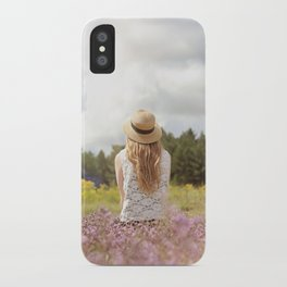 Sea Lavender iPhone Case
