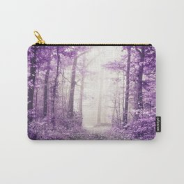 Take me home where I belong (deep purple forest) Carry-All Pouch