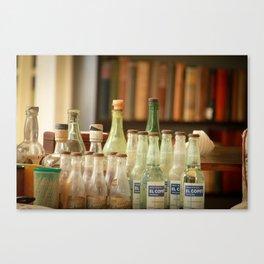 bottle love Canvas Print