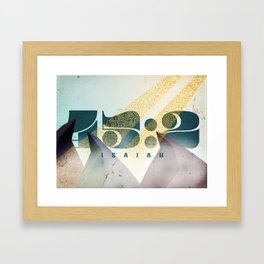45:2 Framed Art Print