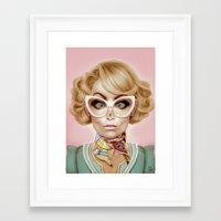 fly Framed Art Prints featuring Fly Away by Giulio Rossi