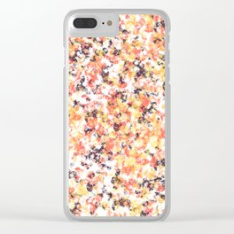 Majestic Marble Clear iPhone Case