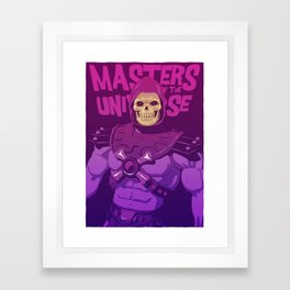 Masters of the Universe - Skeletor Framed Art Print