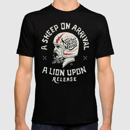 A sheep on arrival /Helmet T-shirt