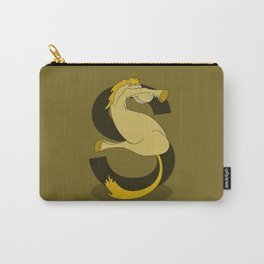 Monogram S Pony Carry-All Pouch