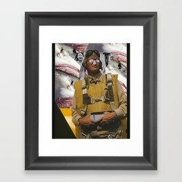 Horror Hero Framed Art Print