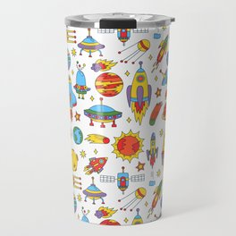 Outer space cosmos pattern Travel Mug