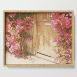 California Bougainvillea Serving Tray
