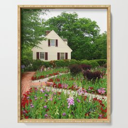 Cottage Garden - Colonial Williamsburg Serving Tray