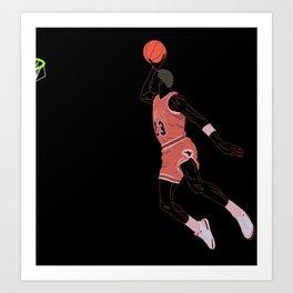AirJordan Art Print