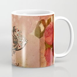 Decorative dragon with floral elements Coffee Mug