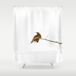 bea eater Shower Curtain