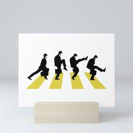 Ministry of Silly Walk Mini Art Print