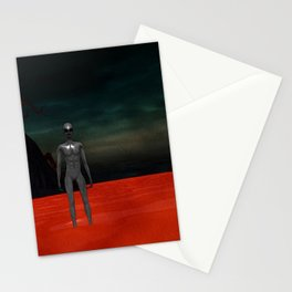 Alien World Stationery Cards