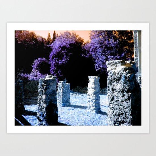 Ruins Art Print