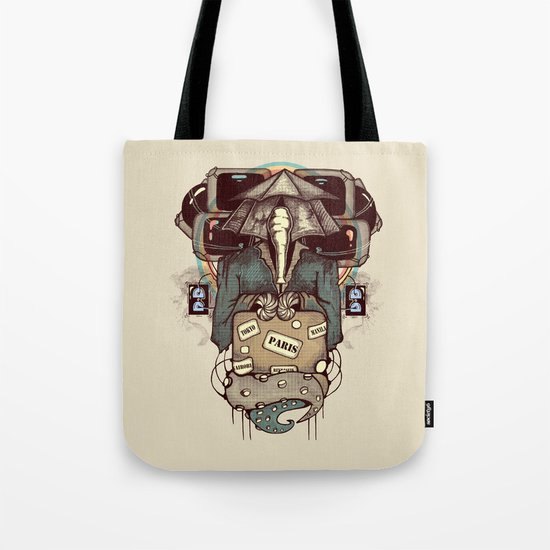 Transcendental Tourist Tote Bag