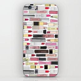 Lipstick War iPhone Skin